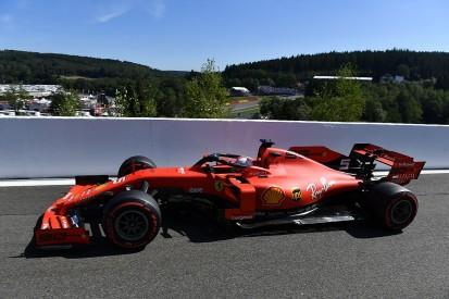 Belgian Grand Prix practice: Vettel fastest, problems for Hamilton