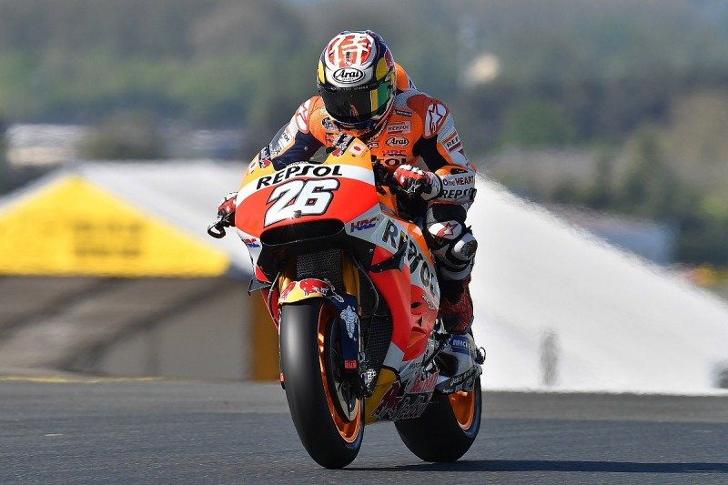 Dani Pedrosa edges Jorge Lorenzo in first Le Mans MotoGP practice