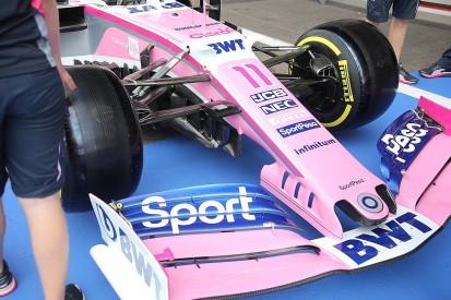 Racing Point overhauls front end F1 car design ahead of Belgian GP