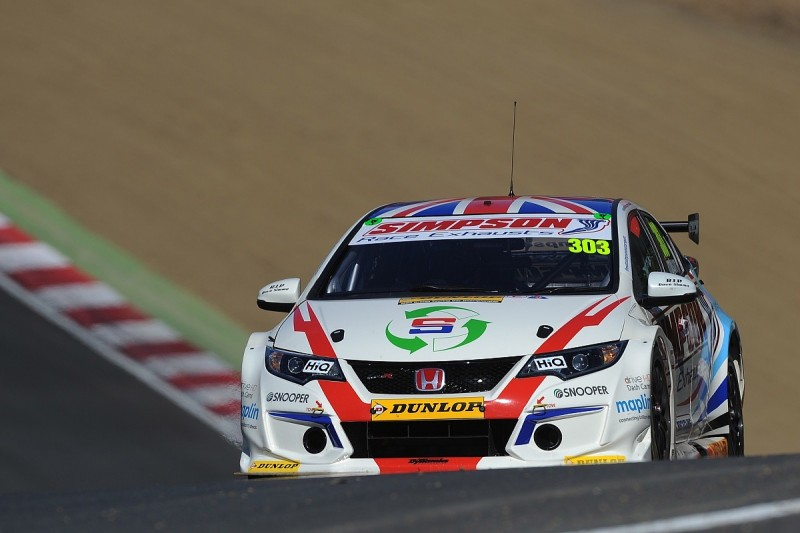 Simpson moves from Dynamics to Eurotech for 2018 BTCC season