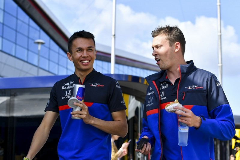 Kvyat understands why Red Bull F1 picked Albon to replace Gasly