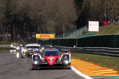 Toyotas move ahead in second practice for WEC at Spa