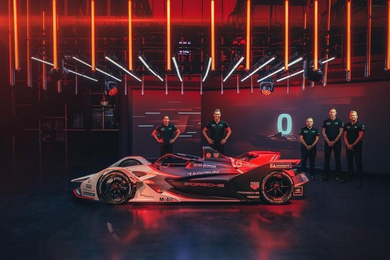 Porsche reveals 2019/20 FE team and 99X Electric car livery