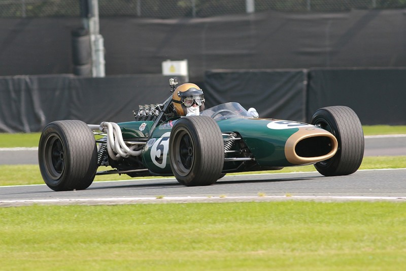 Oulton-winning Brabham F1 car returns to track for Gold Cup
