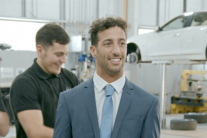 Promoted: Ricciardo pitches for INFINITI Employee of the Month