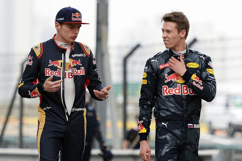 Max Verstappen replaces Daniil Kvyat in Red Bull F1 line-up