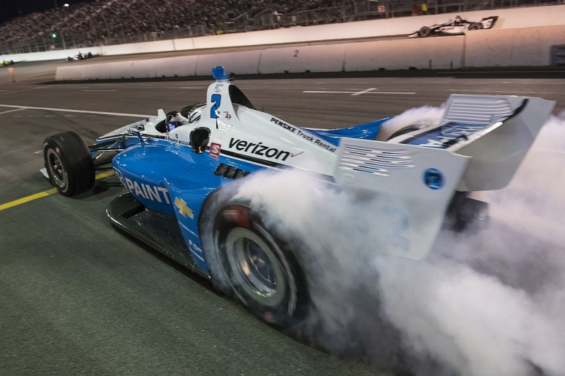 Newgarden hits out at Ferrucci over late IndyCar Gateway spin