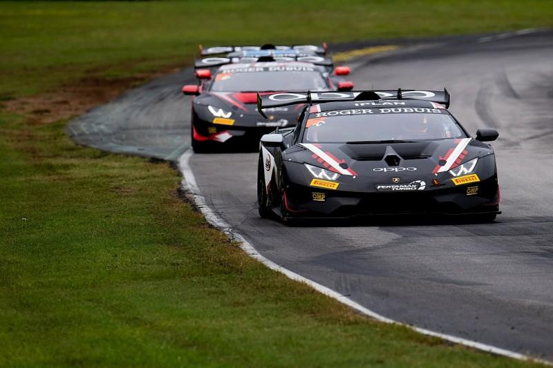 Ruberti/Sbirrazzuoli claim first Lamborghini Super Trofeo '19 win