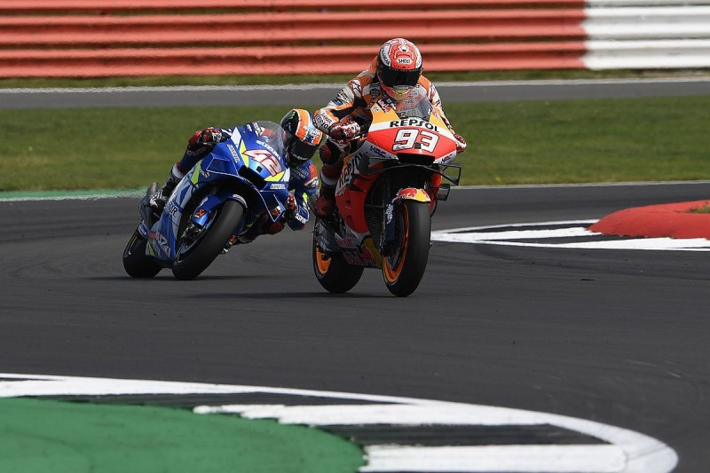 Marquez Silverstone MotoGP strategy was to minimise loss, not to win