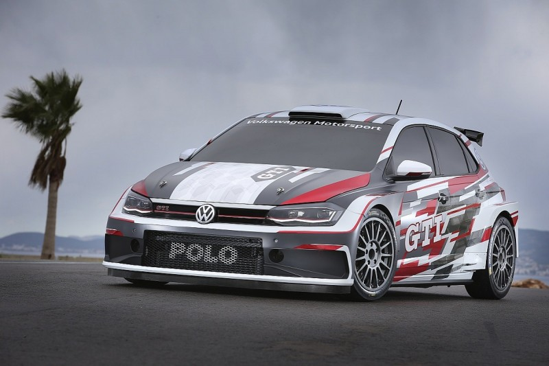 Video: Volkswagen R5 WRC2 car completes first public test in Wales