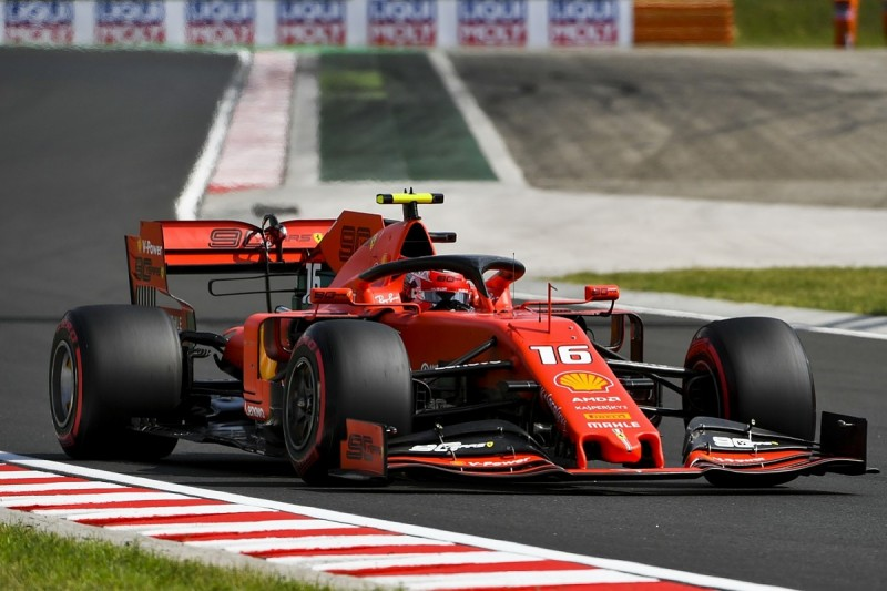 Ferrari F1 team surprised by Leclerc's rate of improvement in 2019