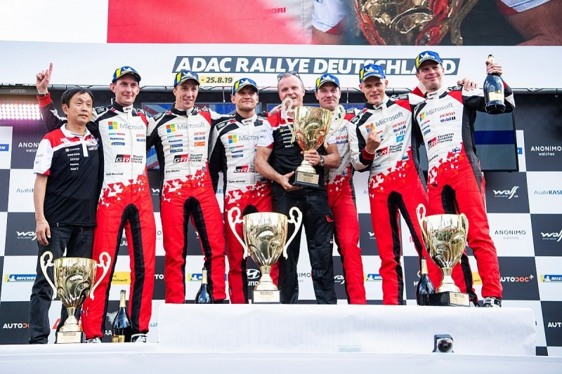 Tanak extends WRC lead over rival Neuville with Rally Germany win