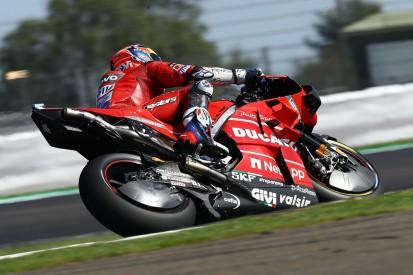 Andrea Dovizioso taken for hospital checks after British GP crash