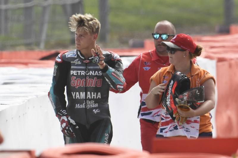 Quartararo: Silverstone first-lap crash caused by Rins error