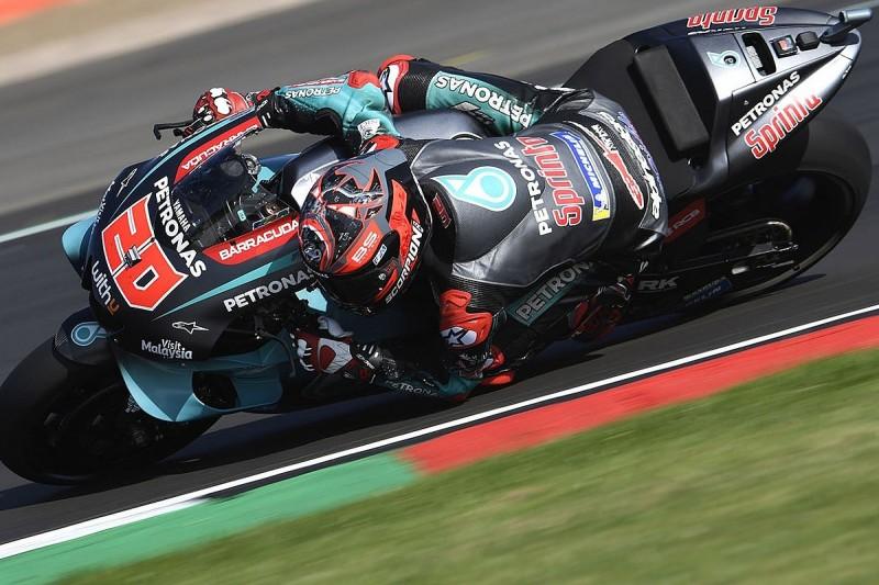 Quartararo: Warning light compromised Silverstone MotoGP qualifying
