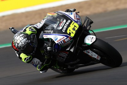 """Silverstone MotoGP: """"Amateur mistake"""" led to Crutchlow qualifying fall"""
