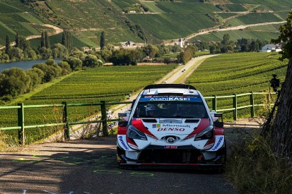 Rally Germany WRC: Tanak in control, title rivals suffer punctures