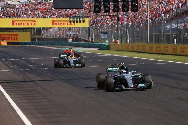Hamilton vowed to never let Bottas get ahead after F1 Hungarian GP