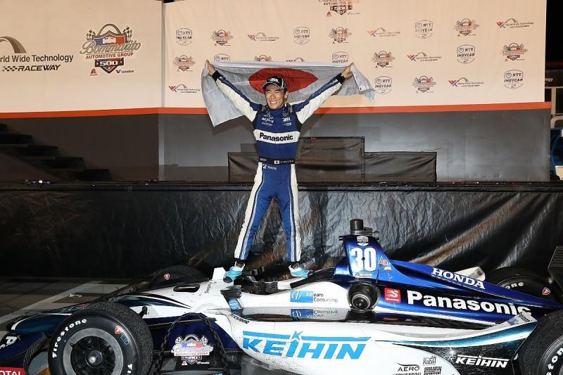Gateway IndyCar: Sato responds to Pocono crash criticism with win
