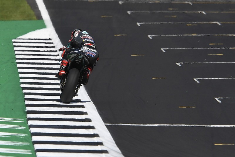 MotoGP alters Silverstone track limits after practice time deletion
