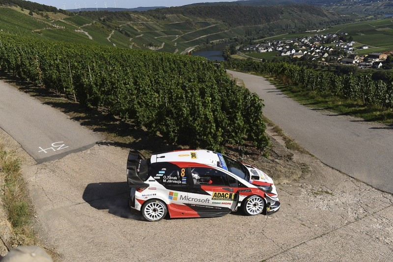 Tanak extends WRC Rally Germany lead for Toyota as Neuville falters