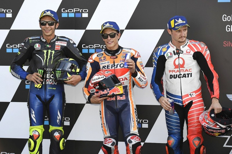 Silverstone MotoGP: Marquez storms to pole with another lap record
