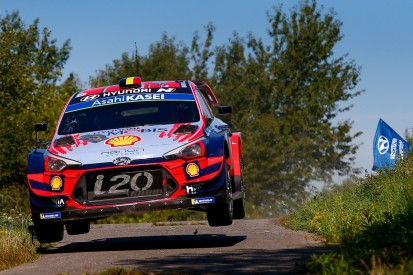 Hyundai's Neuville keeps pressure on Tanak in WRC Rally Germany