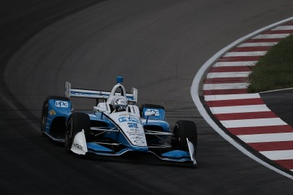Newgarden takes pole for IndyCar Gateway, title rival Rossi 11th