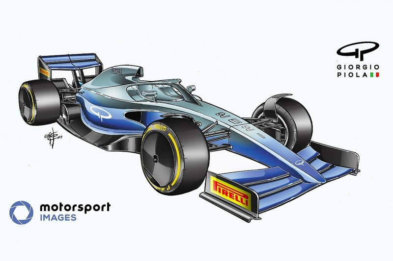 What we've learned from Formula 1 2021 car windtunnel model