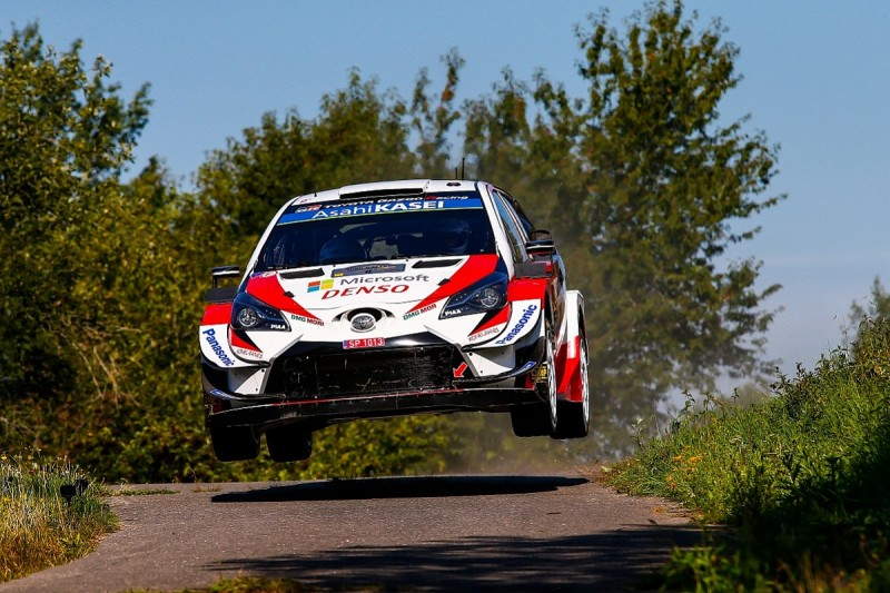 Tanak leads WRC Rally Germany for Toyota ahead of Neuville