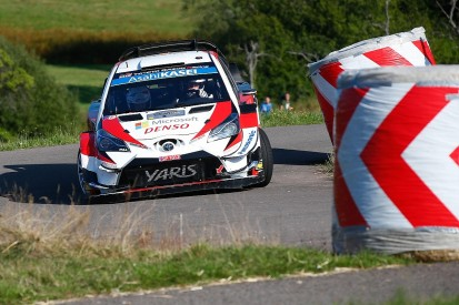 Tanak takes lead in first stage of WRC Rally Germany for Toyota