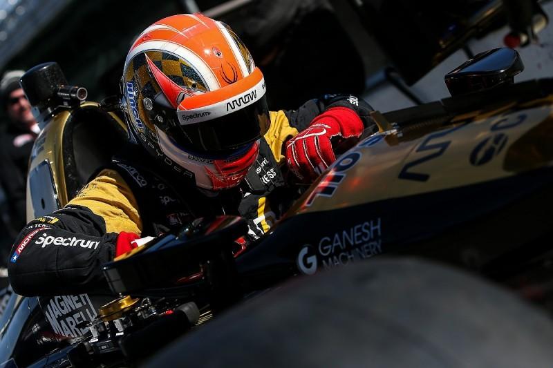 James Hinchcliffe puzzled by Phoenix IndyCar aerokit test crash