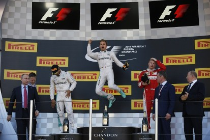 Rosberg stays unbeaten, Hamilton salvages second in Russian GP