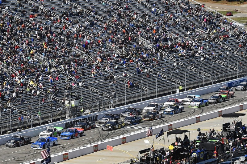 NASCAR tightens limits on Cup drivers in Xfinity/Truck Series again