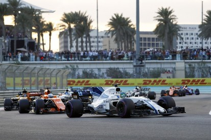 Number of F1 overtakes in 2017 fell by almost 50% compared to '16