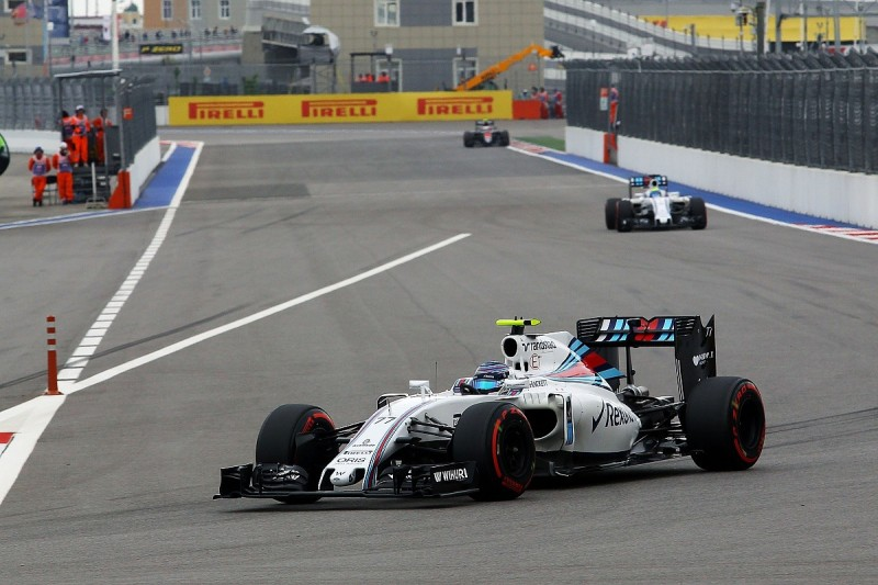 Low-speed corner improvements aid Williams in Russian GP qualifying