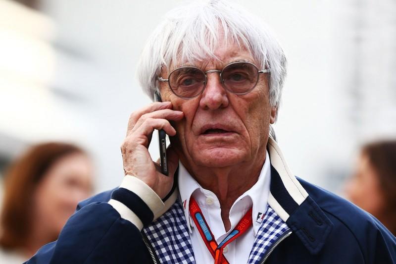 Bernie Ecclestone against Formula 1 cockpit protection plans