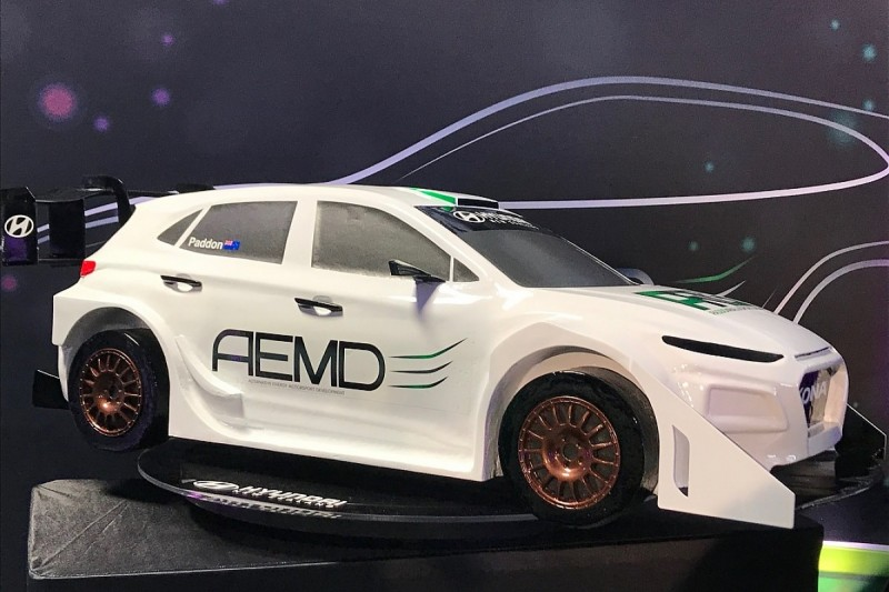 WRC event winner Hayden Paddon launches electric rally car project