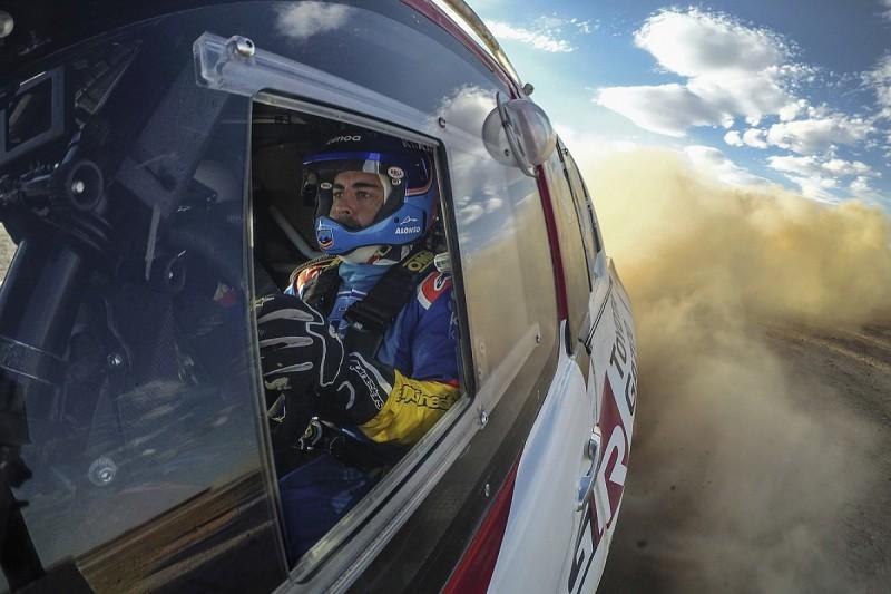 Toyota steps up Fernando Alonso's Dakar Rally preparation programme
