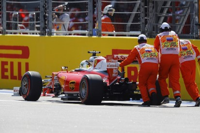 Ferrari's Sebastian Vettel gets five-place Russian GP grid penalty
