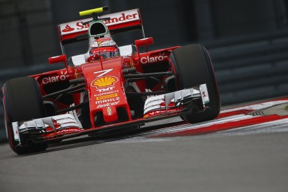 Raikkonen blames errors for missing Russian Grand Prix front row