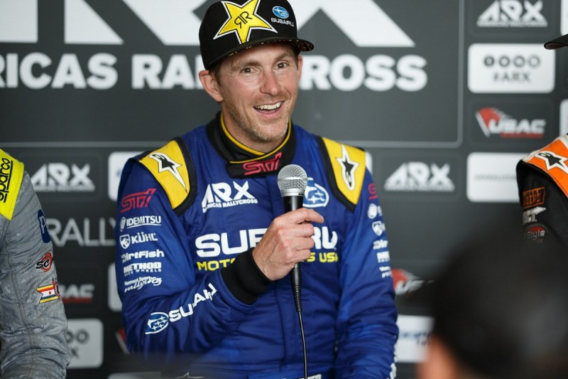 Ex-Toro Rosso Formula 1 driver Speed breaks back in rallycross event