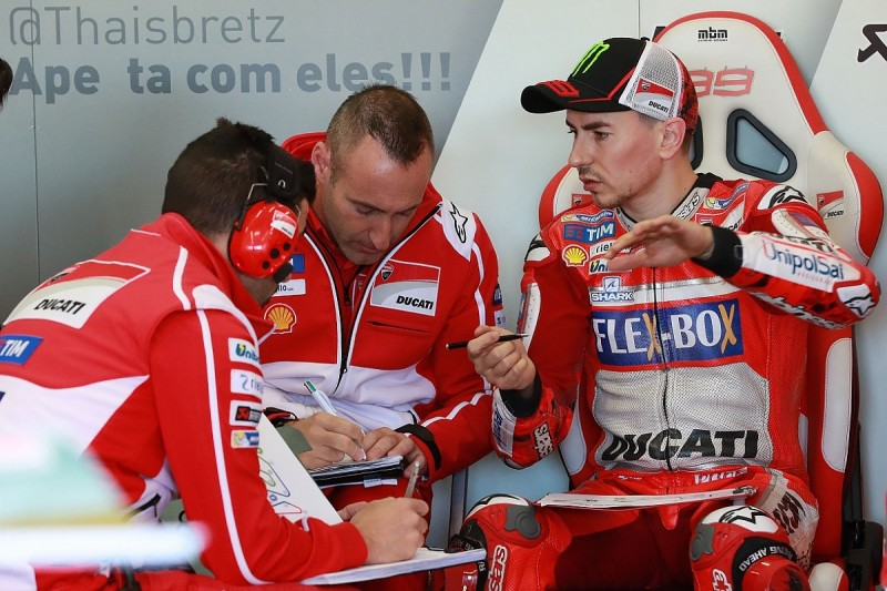 Repeat of Jorge Lorenzo's 2017 Ducati MotoGP season 'unacceptable'