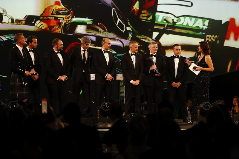Autosport Awards 2017 - Racing Car of the Year: Mercedes W08