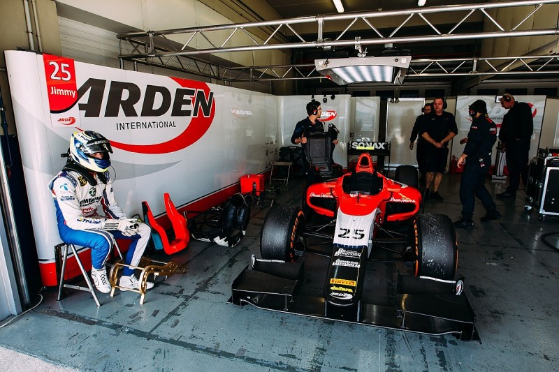 Arden firms up 2016 GP2 line-up of Jimmy Eriksson and Nabil Jeffri