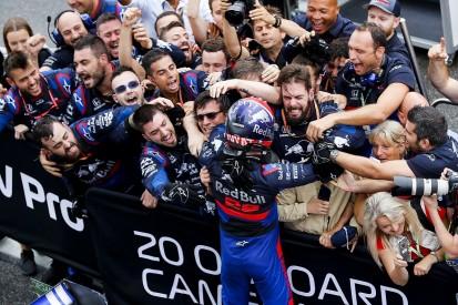 Honda: Kvyat Germany podium was reward for Toro Rosso's '18 efforts