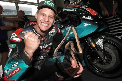 Quartararo impatient to get to Yamaha-suited MotoGP tracks after podium