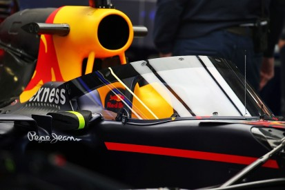 First image of Red Bull F1 cockpit canopy at Russian Grand Prix