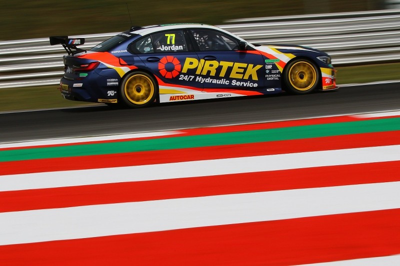 Jordan would need '20 title shot to stay in BTCC after sponsor exit
