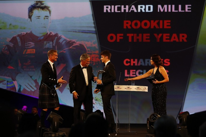 Autosport Awards 2017 - Rookie of the Year: Charles Leclerc